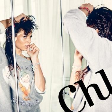 Dutch Actress Chloe Leenheer poses for LINDA. Magazine