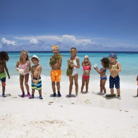 Kids cating for Duukies Beachsocks by Chicas Productions