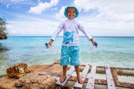 Kids Sustainable Swimwear Hats Beach Curacao