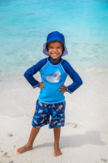 Kids Sustainable Swimwear Hats Beach Curacao