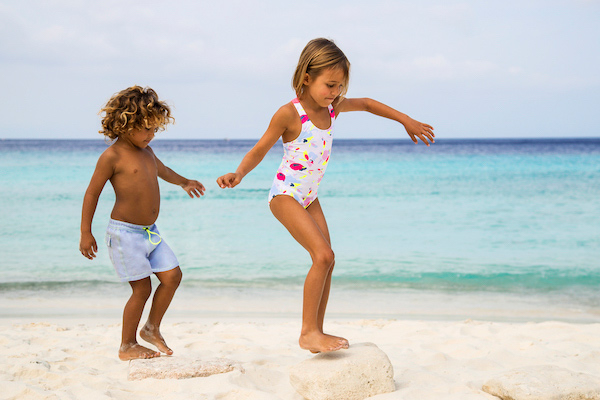 Kids Models from Curacao for Heidi Klein - Edymar & Sophie