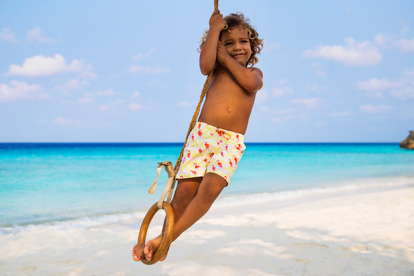 Kids Models from Curacao for Heidi Klein - Edymar