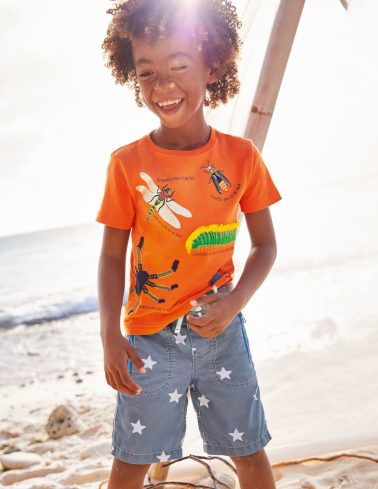Boys Fashion Mini Boden Curacao Beach