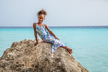 Girls Mermaid Swimwear Shoot Curacao