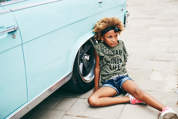 One of our favorite kids fashion shoots on Curacao