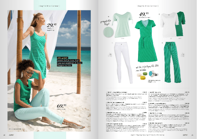fashion catalog on caribbean location colorful streets beach landscapes local production services Curacao summer