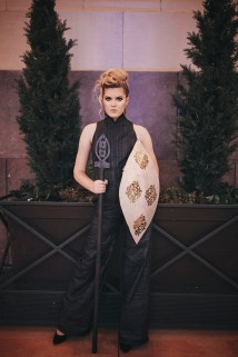 AnnMann Designs X Andrea Long Kansas City Fashion Week SS'17 | Accessories : Christine Nelson of AnnMann Designs, Clothing : Andrea Long, Photographer : Paper People Photography, MUA : Corien Shaw, Hair : Anna Claire Hurt