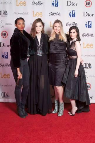 from left to right (Mariah Kellii, me, Brooke Richardson, Eliza Williams)