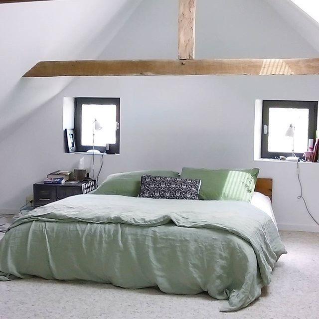 chambre simpliste chambre moderne toit cathedrale