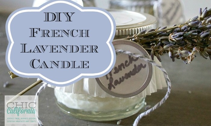 WhatNot Wednesday: DIY French Lavender Candle