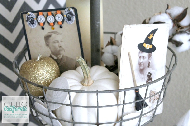 Vintage Photos for Halloween by Chic California