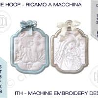 ITH Capoculla / Fuoriporta - Ricamo a macchina con tutorial