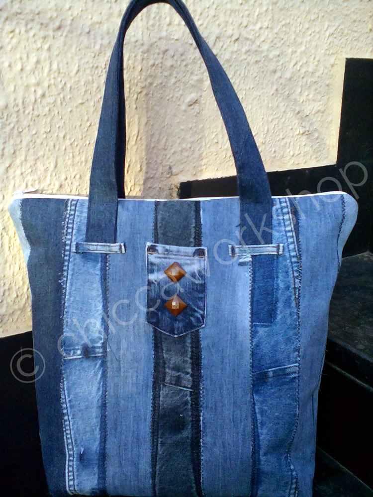 Denim Stripes Progetto per riciclare i vecchi jeans