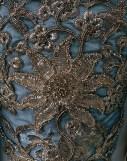 18th Century Court Dress Close Up