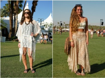Festival goers in Freepeople at Coachella 2011