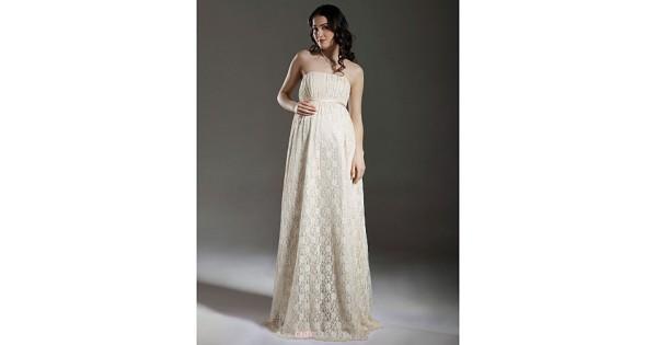 Sheath/Column Maternity Wedding Dress