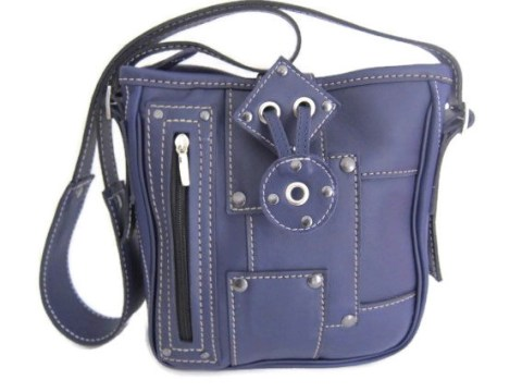 Sac Patch bleu outremer