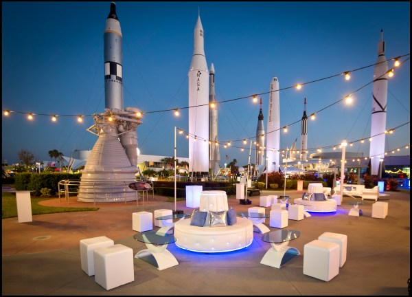 Kennedy Space Center CHIC Event Wedding and Tradeshow