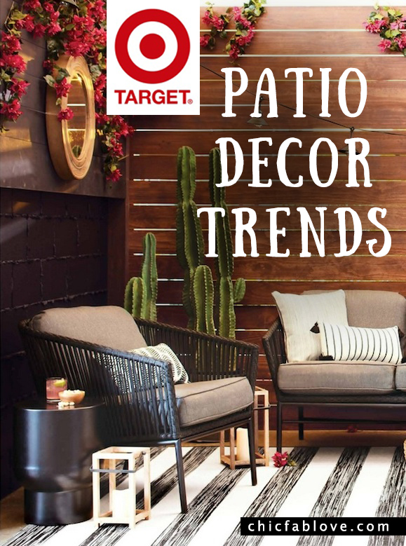 Target Patio Decor Trends 3 Styles Spring Ready