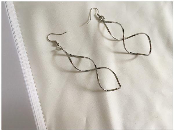 Double Loop Drop Earring