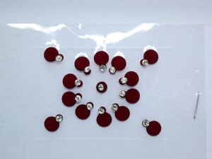 Red Bindis