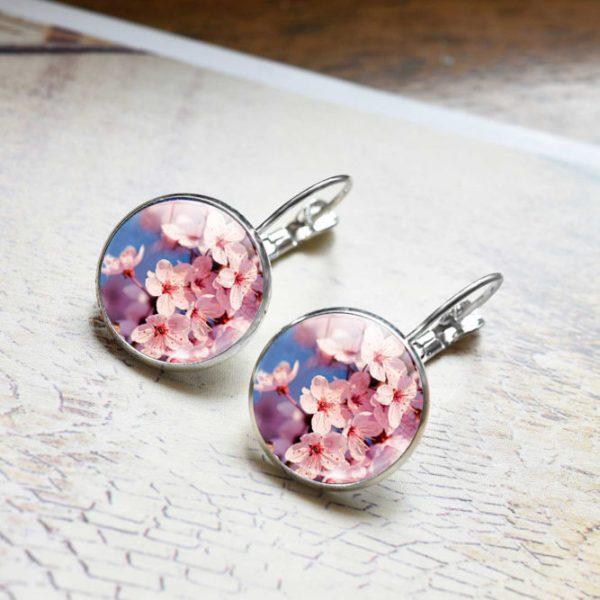 Flower Earring pink