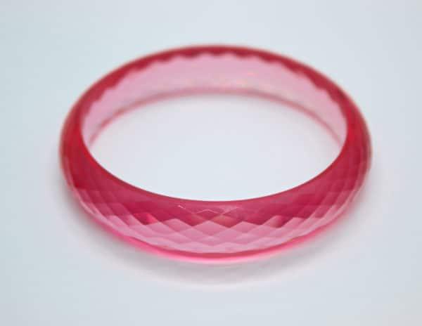 Acrylic Bangle Pink