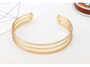Circle-Cuff-Bracelet-Gold