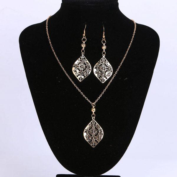 Leaf Jewellery Set