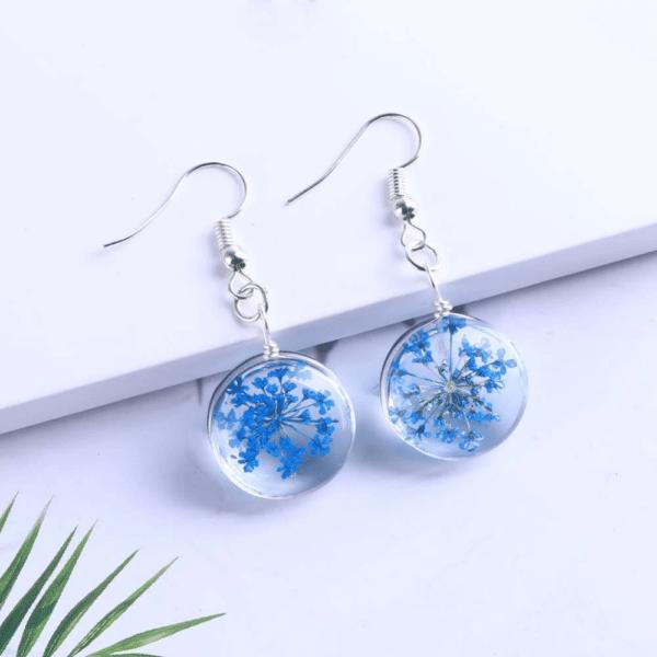 chic-Drop-Earring-Blue