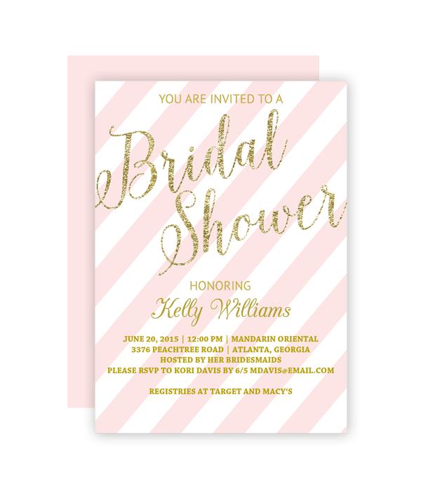 Bridal Shower Invitation Chicfetti