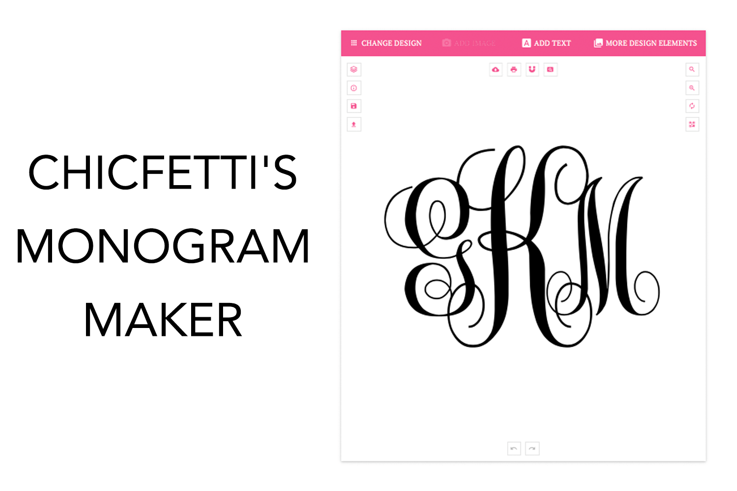 Create My Own Monogram Arts