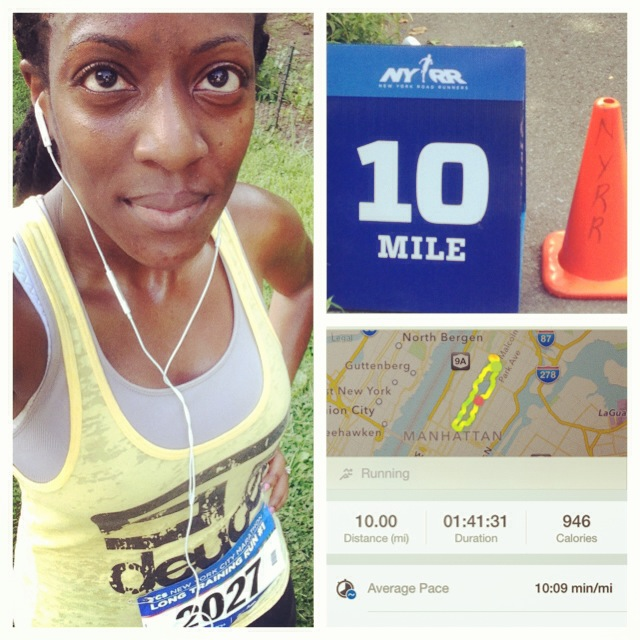 Training for the NYC Marathon: My Month 1 Experience (July) (6/6)