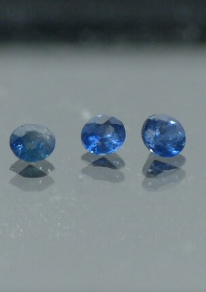 Saphirs bleus pavage