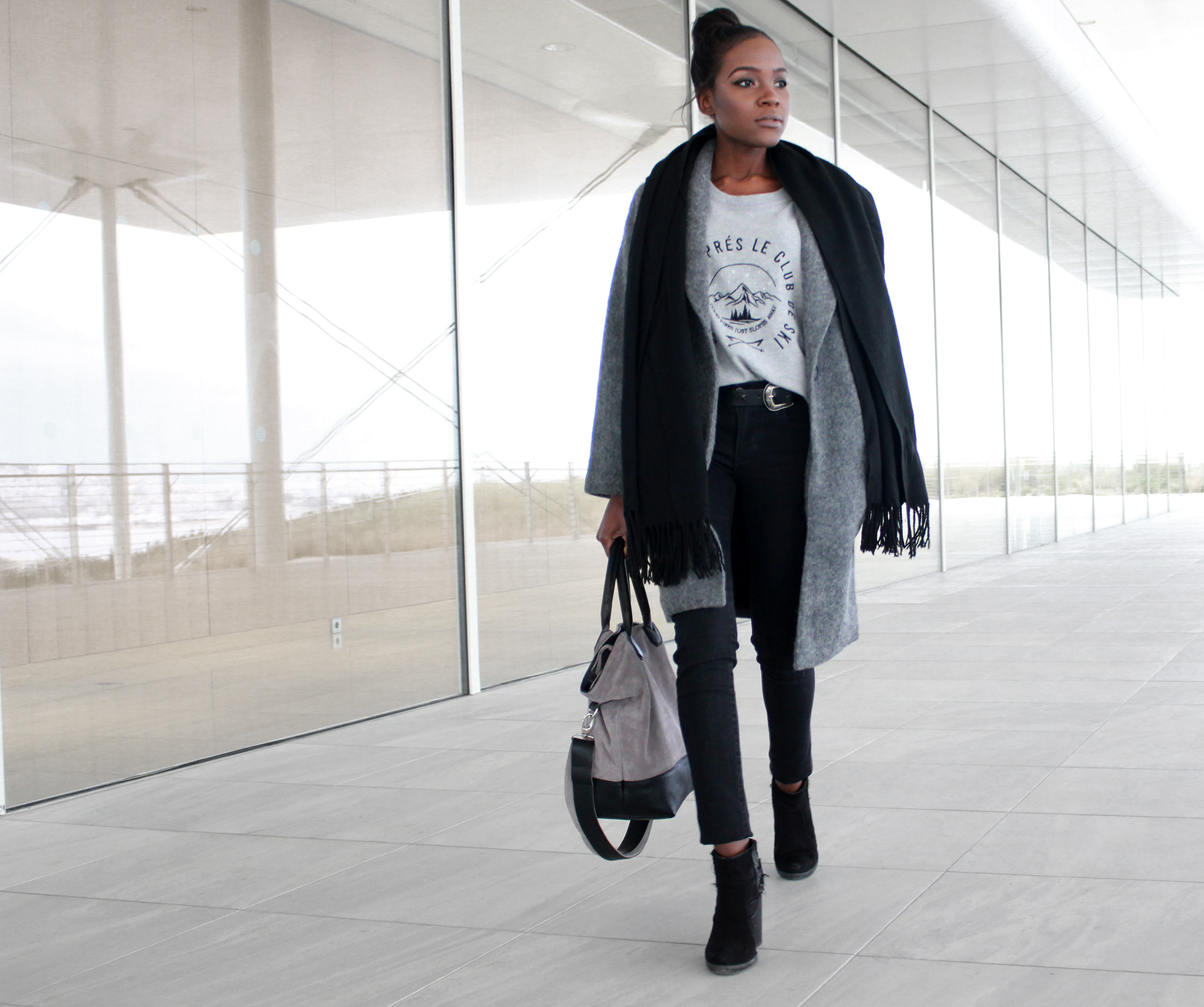 How to wear a long coat if you're petite – ChicGlamStyle