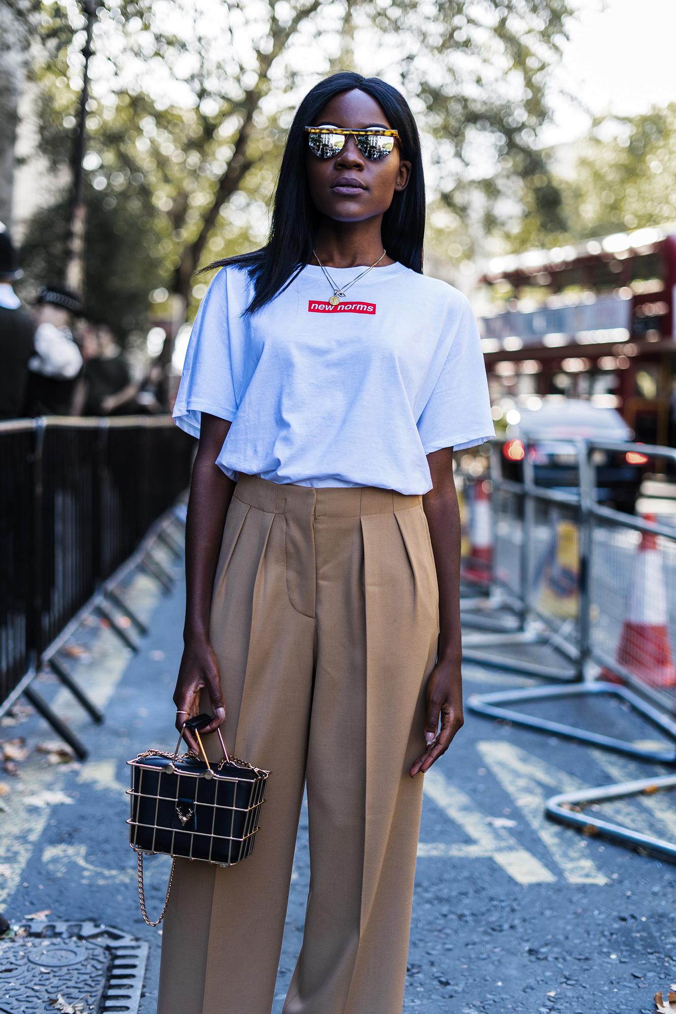 london fashion week outfit