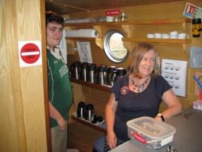 Cabin crew aboard Richmond