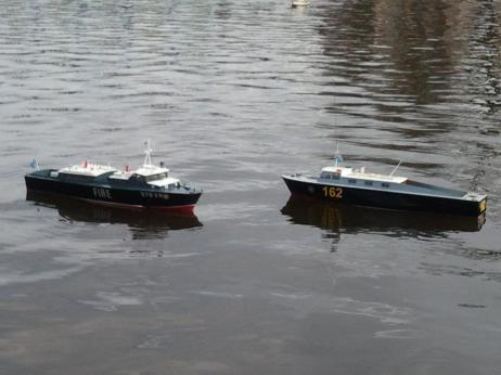 Chichester Canal Model boats