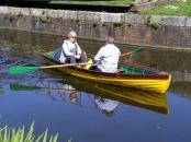 Rowing past Padwick Bridge