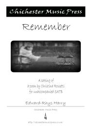 Remember, by Edward-Rhys Harry
