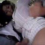 翔田千里 酔っ払って満員バスに乗った美熟女が学生を手コキ抜きしたりとにかく手が付けられない痴女っぷりw