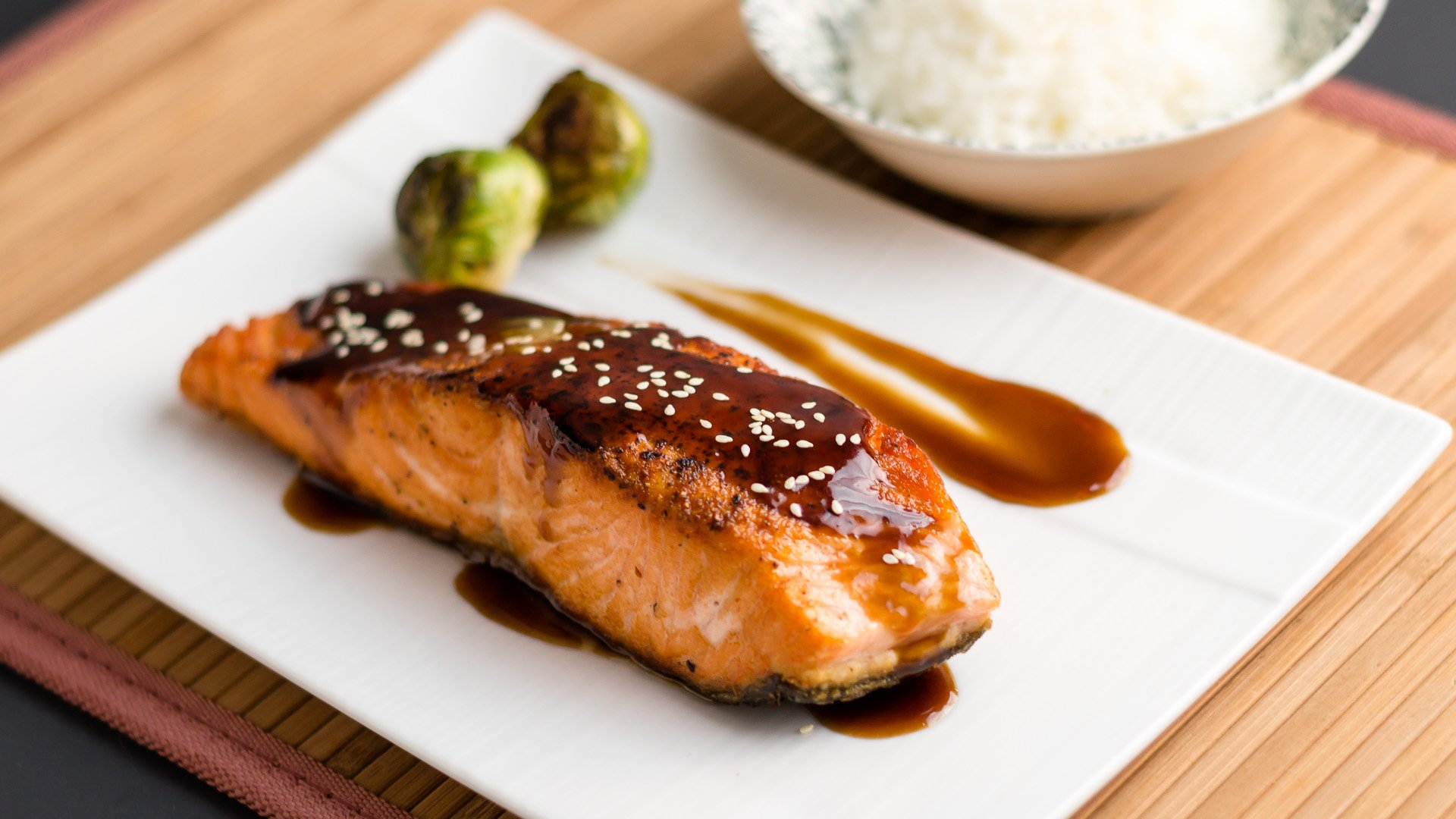 Image result for grilled salmon teriyaki