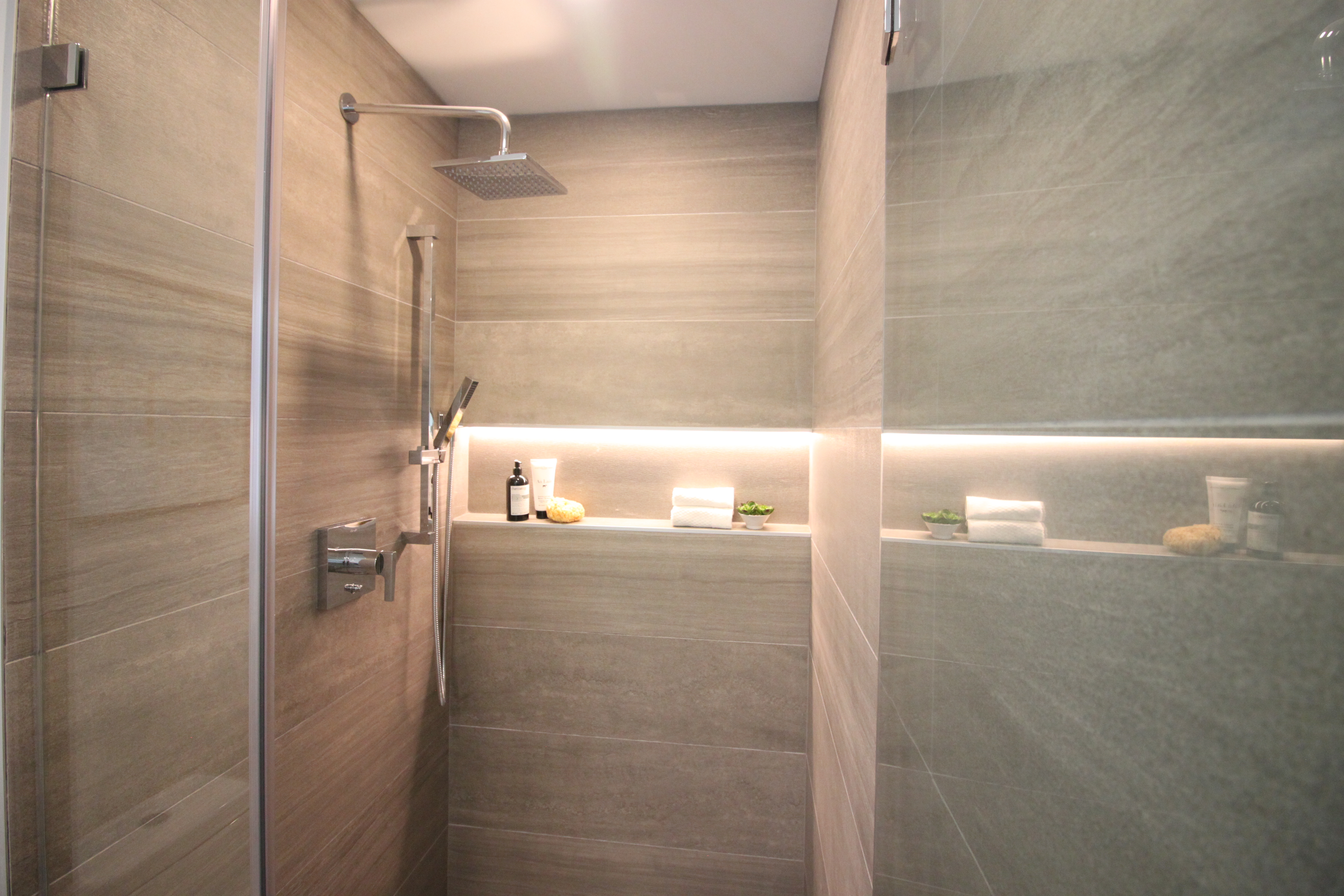 large format tiles chic home concept