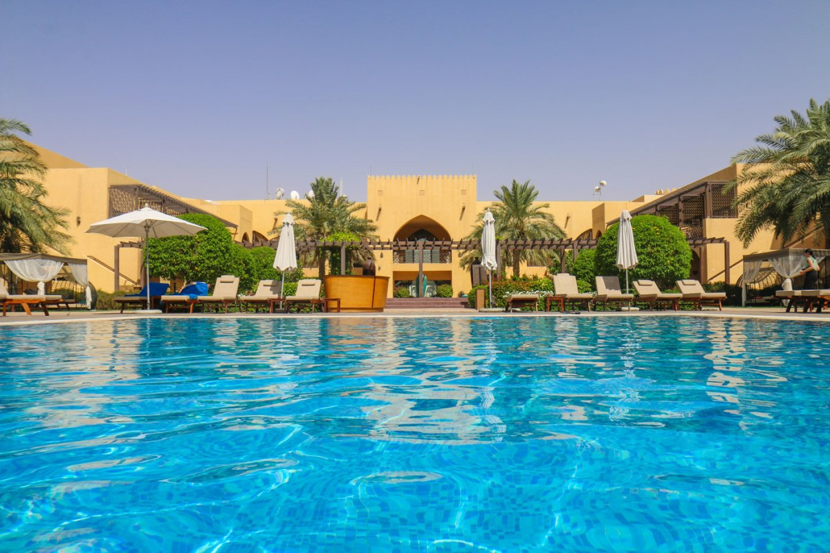Oasis in the Desert of Abu Dhabi: Tilal Liwa Hotel