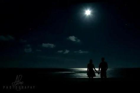 Malindi Beach at Night