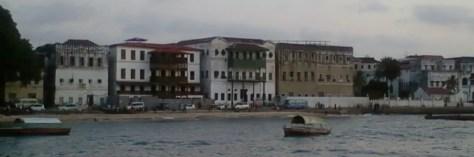 Shoreline, Stone Town, Zanzibar