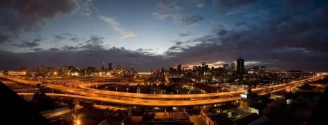 Johannesburg at Sunrise