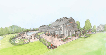 Chickahominy Falls Clubhouse Rendering
