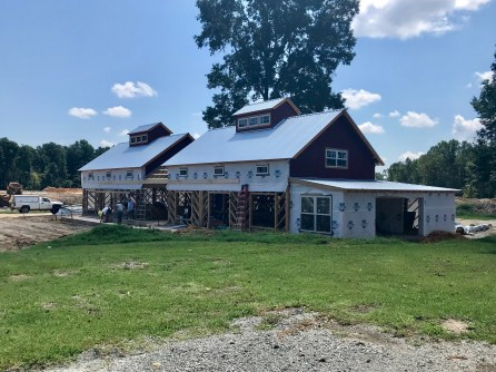 Barn Progress 8/7/18