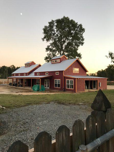 Barn Progress 10/18